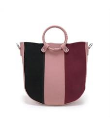 Фото 3. D-032 Набор сумок Ors Oro палево-розовый