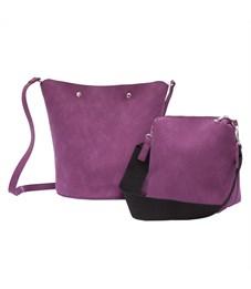 D-034 Набор женских сумок Ors Oro фиолетовый