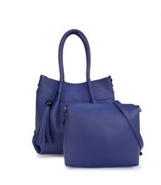 D-410 Набор из сумки и косметички Ors Oro синий