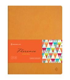 """Дневник 1-11 кл. 48л. (лайт) """"Florence. Orange """", прошитый блок, тонир. блок"""