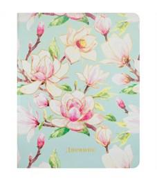 """Дневник 1-11 кл. 48л. (лайт) """"Flowers"""", иск.кожа, полноцветная печать, тиснение, тонир. блок, ляссе"""