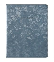 """Дневник 1-11 кл. 48л. ЛАЙТ """"JAZZ. Синий"""", иск. кожа, тонированный блок, ляссе, тиснение"""