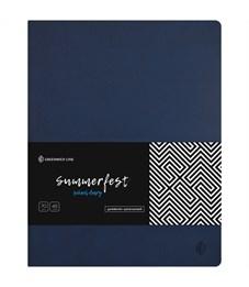 """Дневник 1-11 кл. 48л. (лайт) """"Summerfest. Navy blue"""", прошитый блок, тонир. блок"""