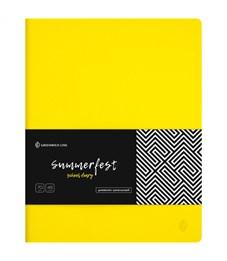 "Дневник 1-11 кл. 48л. (лайт) ""Summerfest. Yellow"", прошитый блок, тонир. блок"