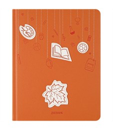 """Дневник 1-11 кл. 48л. (твердый) """"Applique. Школьная пора"""", иск. кожа, ляссе, тиснение, аппликация"""