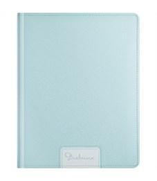 """Дневник 1-11 кл. 48л. (твердый) """"Blue pastel"""", иск. кожа, ляссе, тиснение, поролон"""