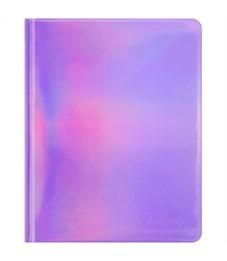 """Дневник 1-11 кл. 48л. (твердый) """"Hit. Lilac"""", лакир.гологр. иск.кожа с тиснением, тонир. блок, ляссе"""