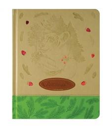 "Дневник 1-11 кл. 48л. (твердый) ""Nature"", иск. кожа, тонир. блок, ляссе, тиснение, аппликация"
