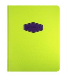 """Дневник 1-11 кл. 48л. (твердый) """"Neon"""", иск. кожа, ляссе, тиснение, поролон"""