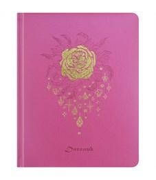 "Дневник 1-11 кл. 48л. (твердый) ""Pinky"", иск.кожа, тиснение, тонир. блок, ляссе"