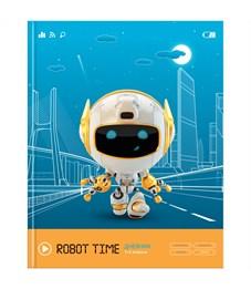 """Дневник 1-4 кл. 48л. ЛАЙТ """"Robot time"""", матовая ламинация, выборочный лак"""