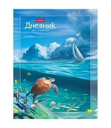 """Дневник 1-4 кл. 48л. (твердый) """"Море волнуется раз..."""", глянцевая ламинация, цветной блок"""