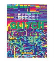 """Дневник 5-11 кл. 48л. (твердый) """"Glitch effect"""", глянцевая ламинация"""
