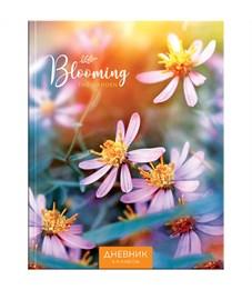 """Дневник 5-11 кл. 48л. (твердый) """"Весенние цветы"""", матовая ламинация"""