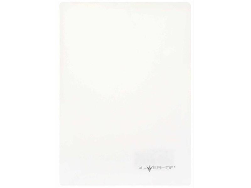 Доска для лепки А5 Silwerhof Emotions, 1 мм, белая