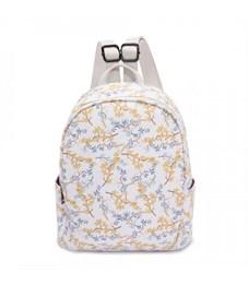 DS-9030 Рюкзак (/7 мелкие цветы на белом)