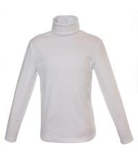 Джемпер-водолазка классический белый 957-ДКМ-04