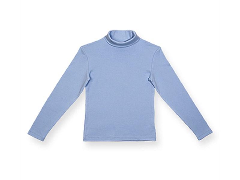 Джемпер-водолазка Снег для мальчика классический голубой 957-ДКМ-04