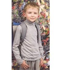 Фото 4. Джемпер-водолазка Снег для мальчика синий меланж 981-ДД-07