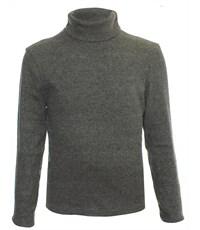 Джемпер-водолазка Снег темно-серый  500-СВ-02