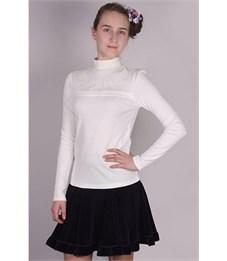 Джемпер для девочки Снег белый