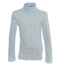 Джемпер Снег для девочки голубой ажур 959-ДАДВ-07