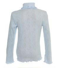 Фото 2. Джемпер Снег для девочки голубой ажур 959-ДАДВ-07