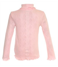 Фото 2. Джемпер для девочки Снег розовый ажур 959-ДАДВ-07