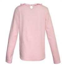 Фото 3. Джемпер для девочки розовый с рюшкой по воротнику
