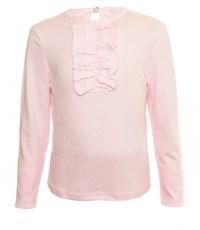 Джемпер розовый с рюшкой-жабо 1260-ДРК-13