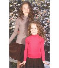 Фото 3. Джемпер Снег для девочки малиновый резинка по воротнику и руковам