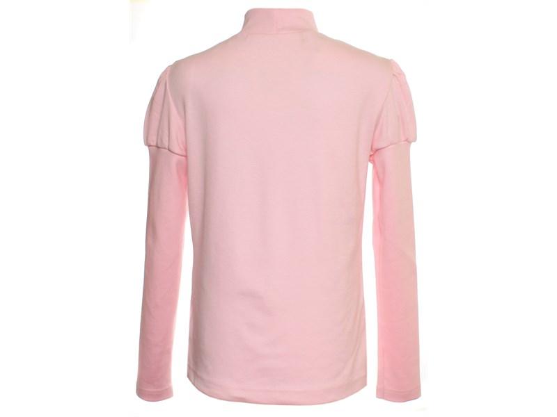 Джемпер Снег для девочки розовый вышивка 1076-ДКР-09