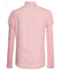 Фото 2. Джемпер Снег для девочки розовый вышивка 1076-ДКР-09