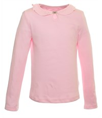 Джемпер Снег розовый с застежкой спереди 1278