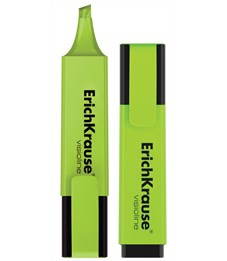 Текстмаркер ErichKrause Visioline V-20, цвет чернил зеленый