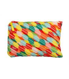 Пенал-сумочка школьный Zipit Colors Jumbo Pouch мульти пузыри большие