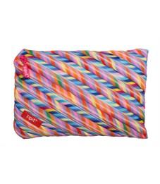 Пенал-сумочка школьный Zipit Colors Jumbo Pouch мульти полоски