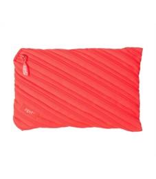 Пенал-сумочка школьный Zipit Neon Jumbo Pouch персиковый