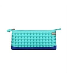 Пенал школьный пиксельный Upixel Bright Colors Pencil Case WY-B002-a Синий с голубым