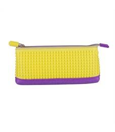 Пенал школьный пиксельный Upixel Pencil Case WY-B002 Фиолетово-желтый