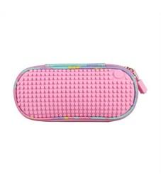 Пенал школьный пиксельный Upixel Super Class WY-B012 Розовый