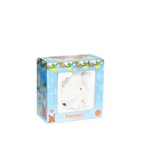 Фото 2. Керамический сувенир для раскрашивания Tukzar Дед Мороз на машине с LED подсветкой