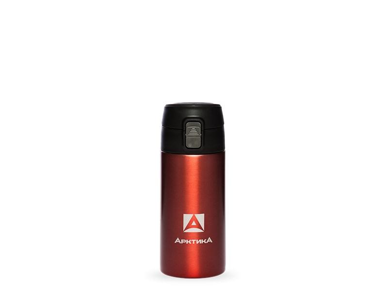 Термос питьевой Арктика, 350 мл, красный