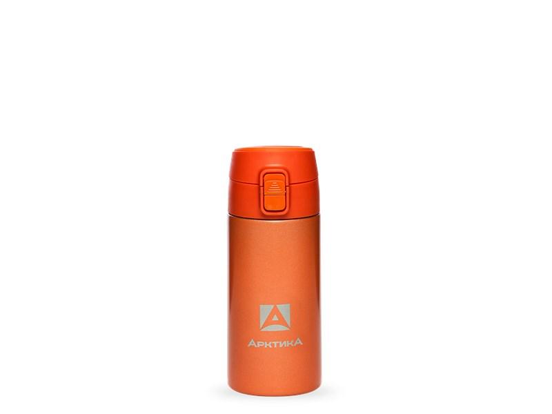 Термос питьевой Арктика, 350 мл, оранжевый