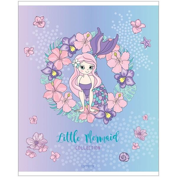 "Тетрадь 48л., А5, клетка ArtSpace ""Русалки. Little mermaid"""