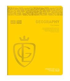 "Тетрадь предметная 48л. Greenwich Line ""Royal Book"" - География, ламинация, выб. уф-лак, 70г/м2"