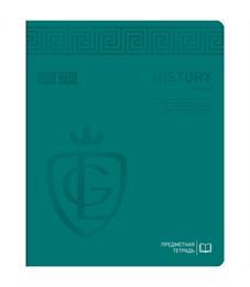 "Тетрадь предметная 48л. Greenwich Line ""Royal Book"" - История, ламинация, выб. уф-лак, 70г/м2"