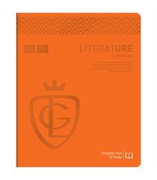 """Тетрадь предметная 48л. Greenwich Line """"Royal Book"""" - Литература, ламинация, выб. уф-лак, 70г/м2"""