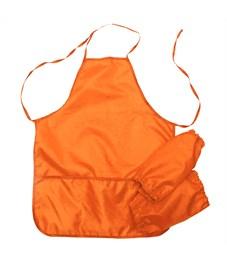 Фартук с нарукавниками Оникс, 53*45см, 2 кармана, оранжевый
