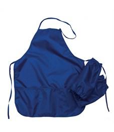 Фартук с нарукавниками Оникс, 53*45см, 2 кармана, темно-синий